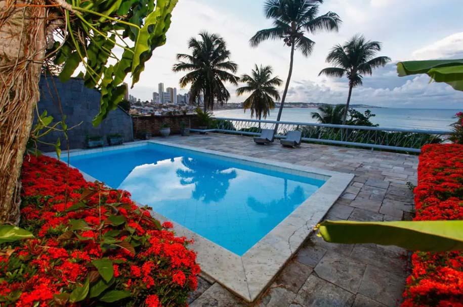 casa de praia com piscina em ponta negra