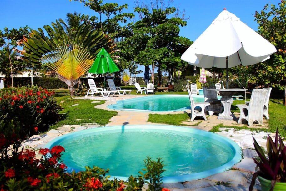 chalé sergipe com piscina booking aribnb