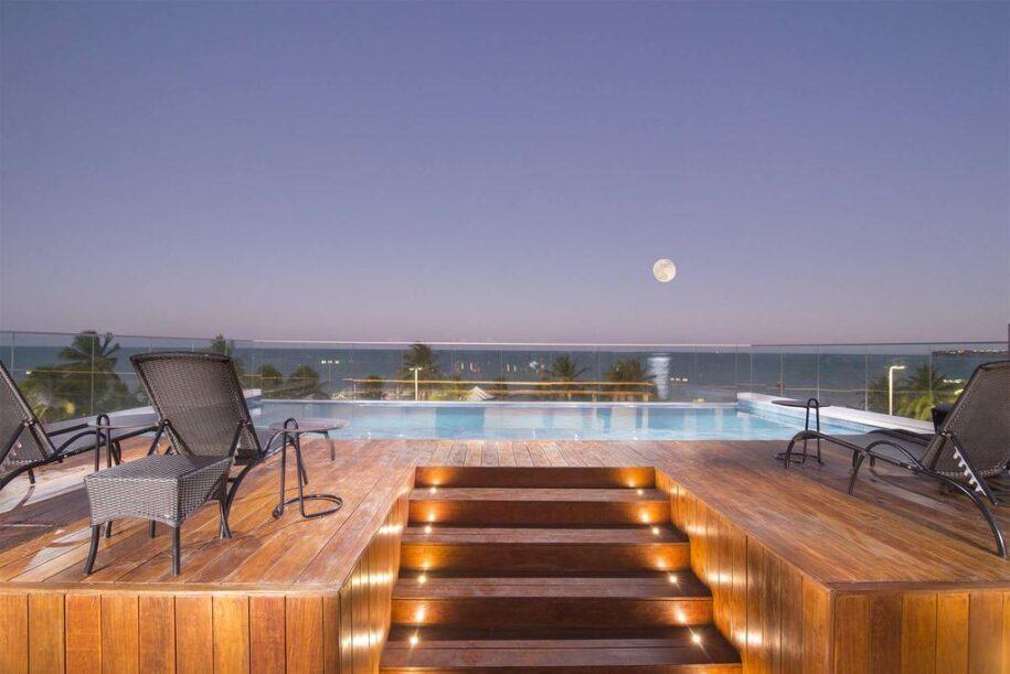 flat com piscina na ponta do seixas em joão pessoa paraíba booking airbnb