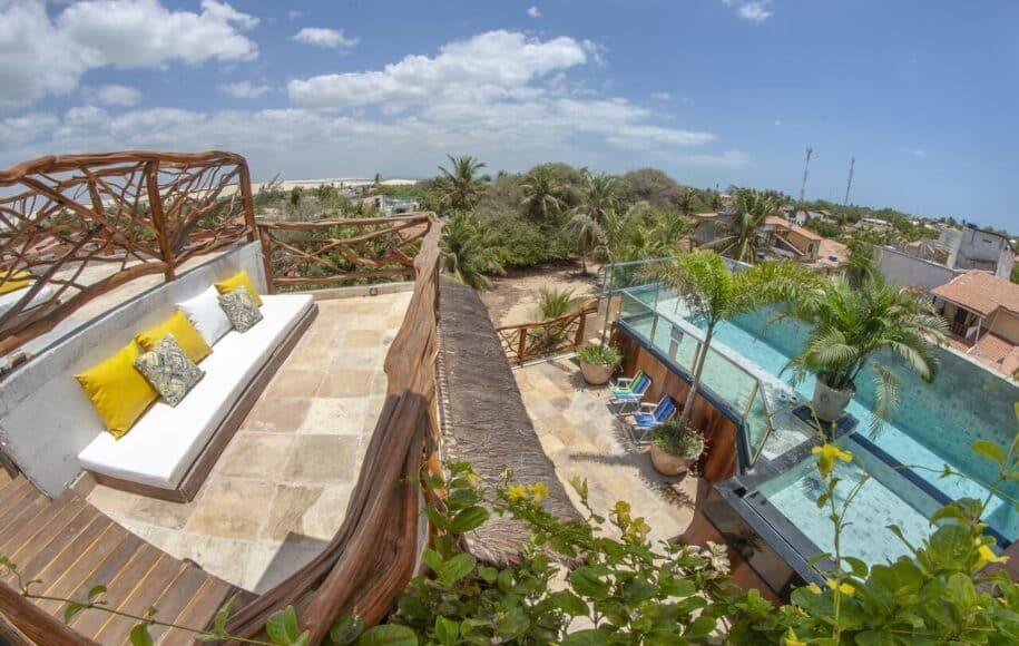 apartamento com piscina na vila de jericoacoara para alguem de temporada booking