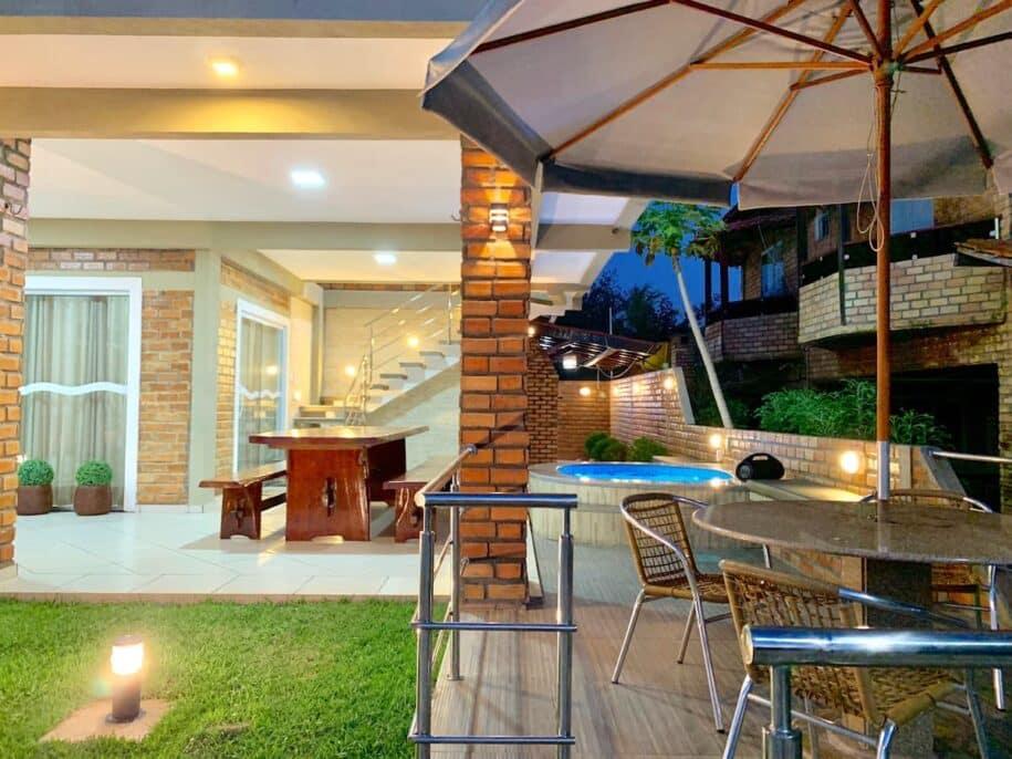 casa com churasqueira e piscina barreirinhas lençois maranhenses
