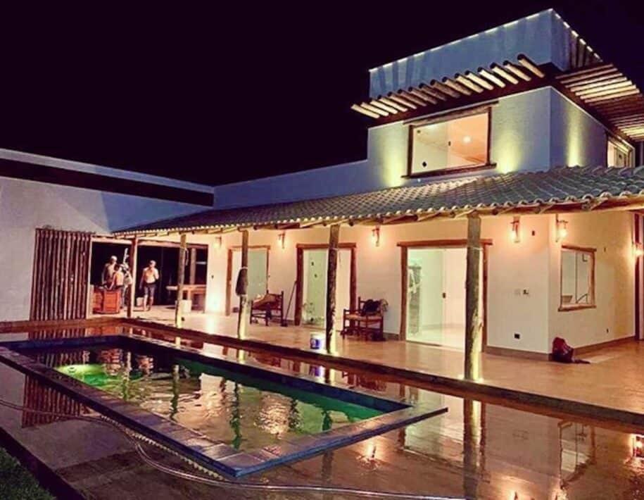 casa de luxo com piscina em barreirinhas lençóis maranhenses airbnb