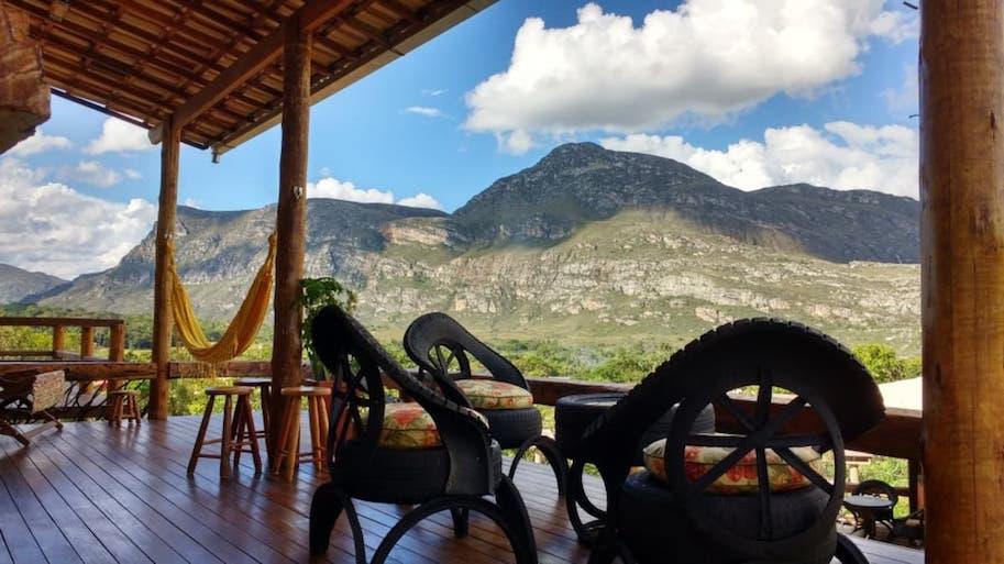 casa temporada airbnb lapinha da serra mg