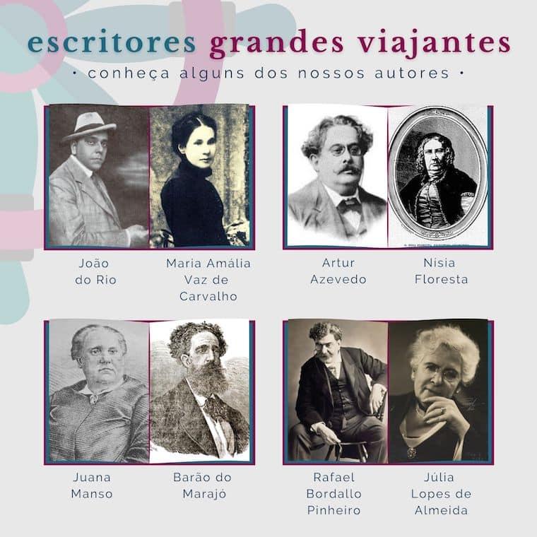 Escritores do Clube Grandes Viajantes