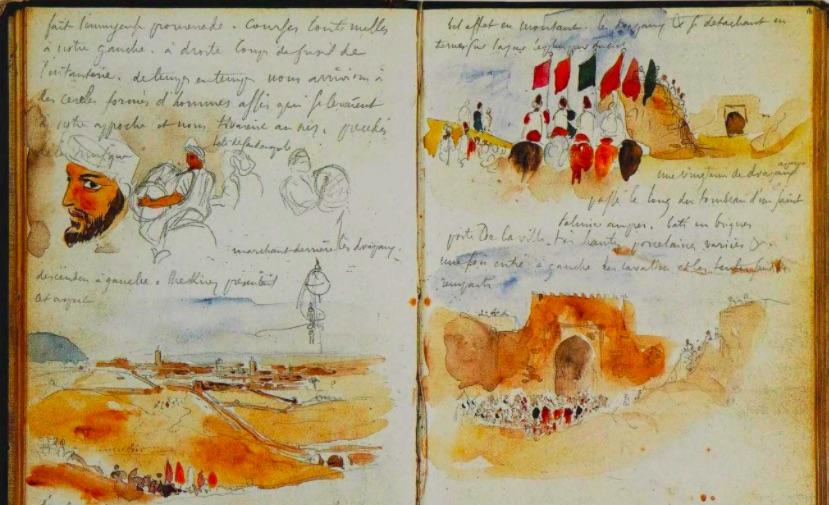 Diario de Viagem de Delacroix