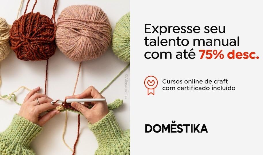 curso de artesanato online com certificado
